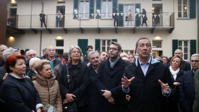 Beppe Sala Cascina Cotica
